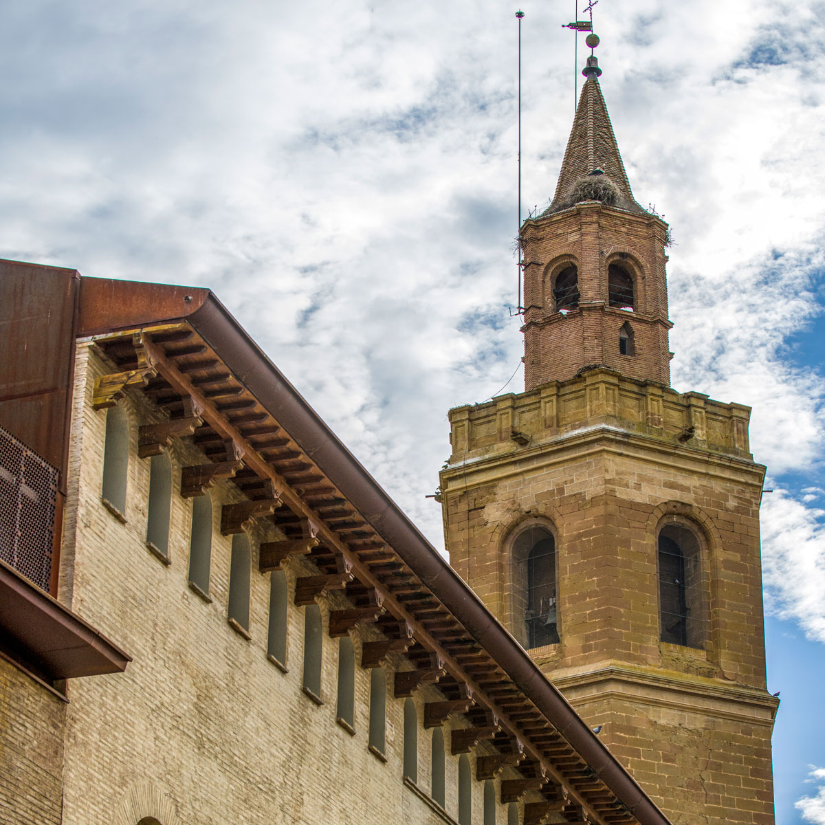 Catedral de Barbastro. Torre