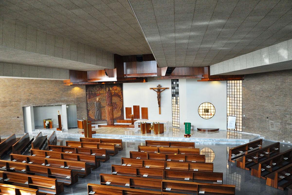 Iglesia de San Josemaría Barbastro. Interior