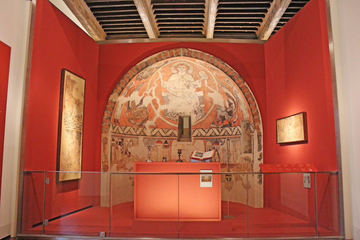 Museo Diocesano Barbastro. Ábside románico