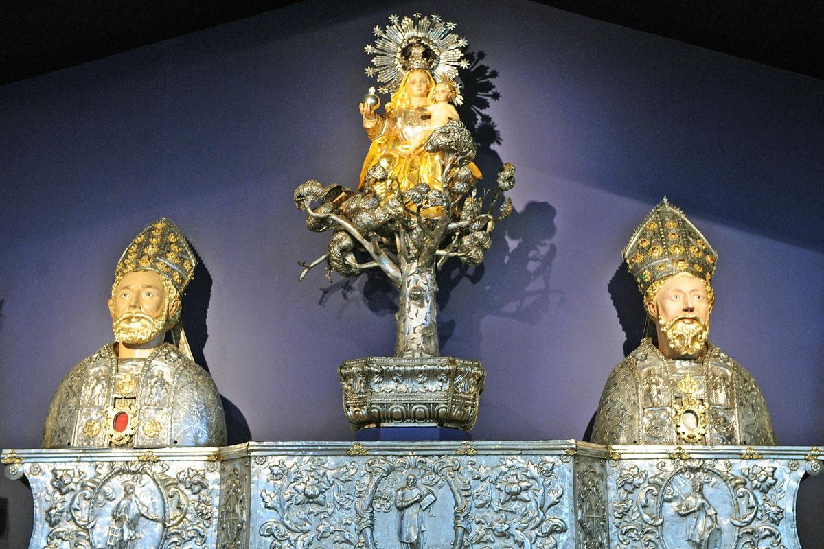 Museo Diocesano Barbastro. Altar en plata