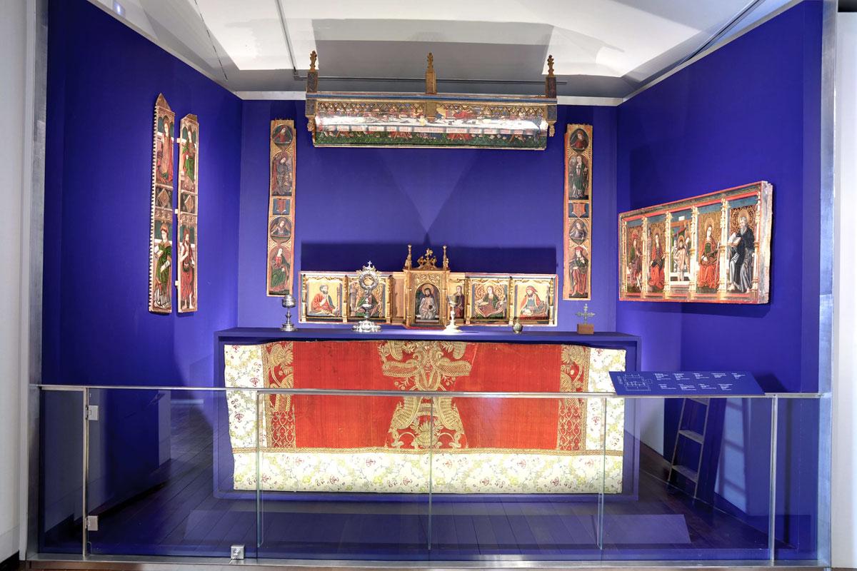 Museo Diocesano Barbastro. Altar gótico