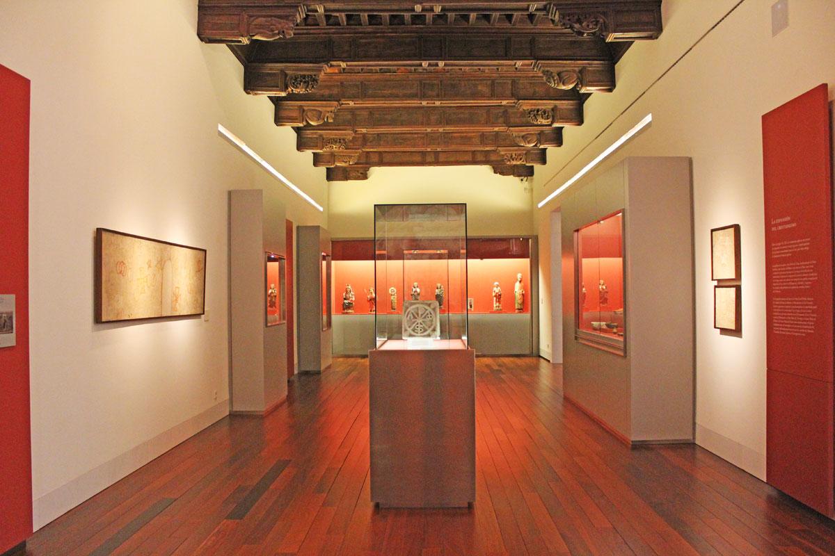 Museo Diocesano Barbastro. Sala románico