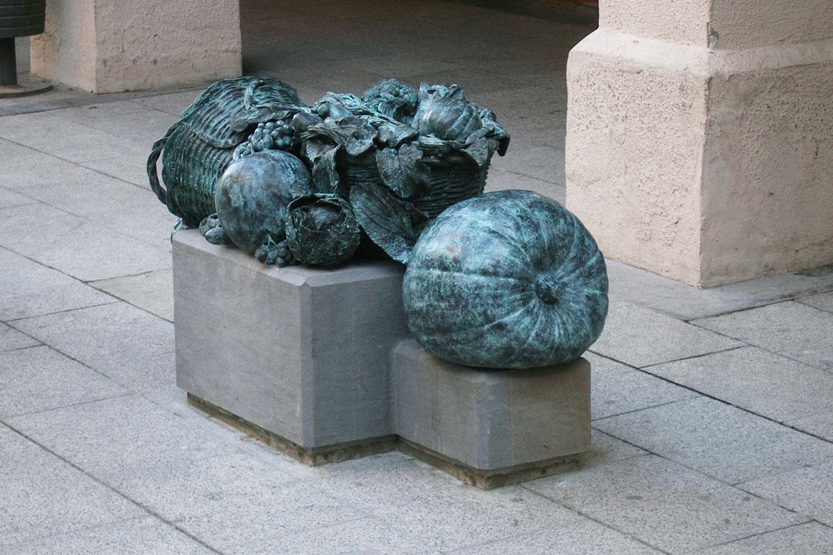 Homenaje a la huerta de Barbastro y a sus hortelanas. José Noguero