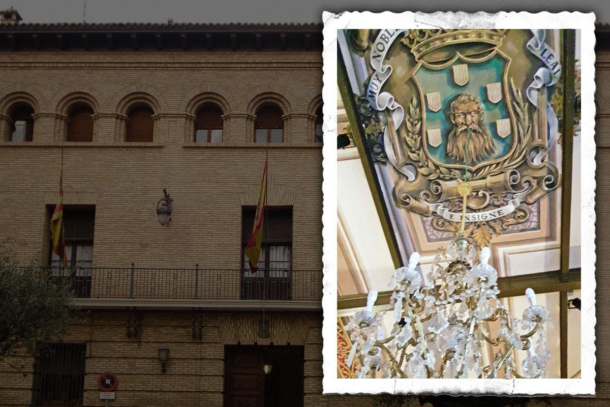 Ayuntamiento Barbastro. Escudo