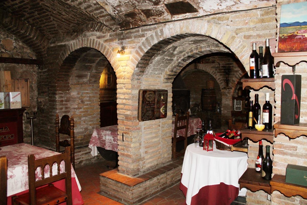 La bodega del Vero. Interior