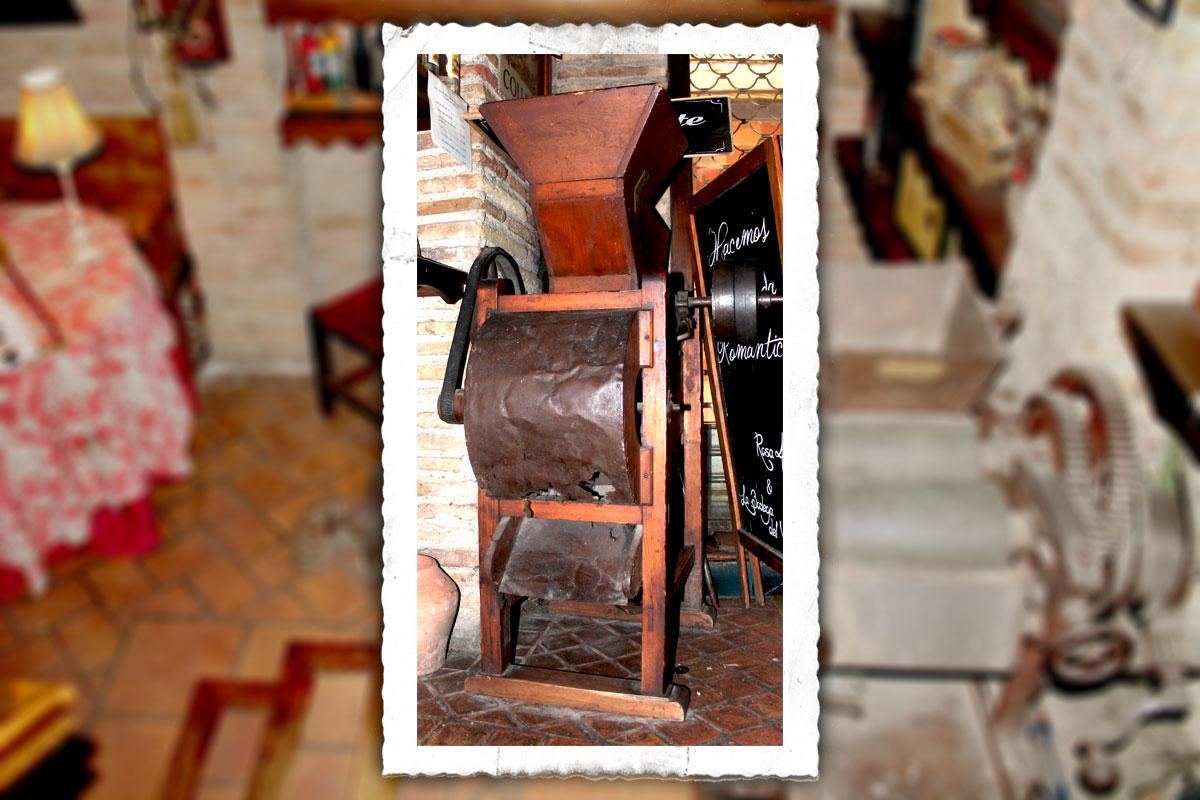 La bodega del Vero. Máquina de chocolate