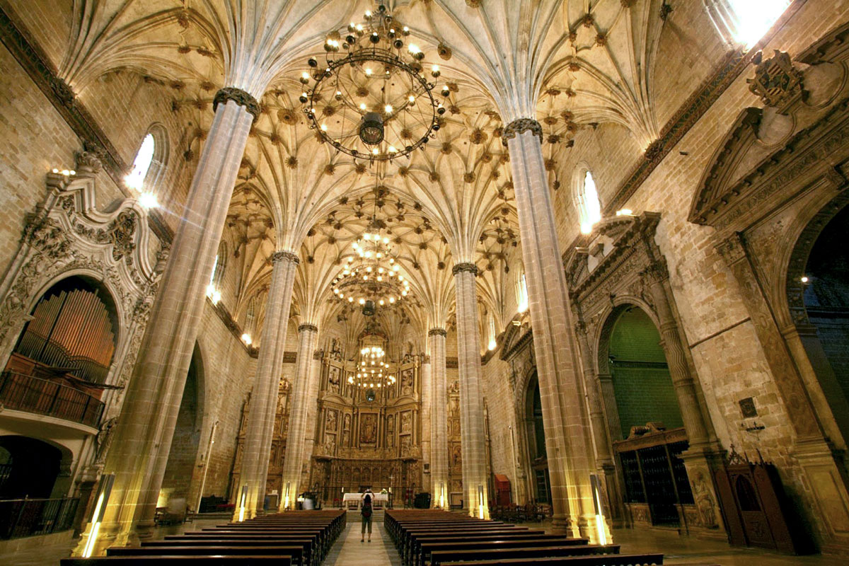 Catedral de Barbastro. Interior
