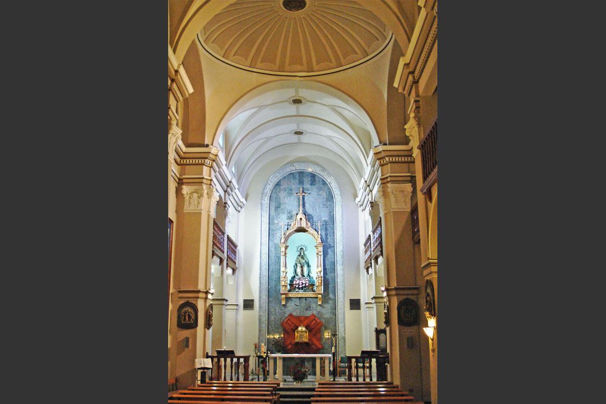 Museo de los Mártires Claretianos Barbastro. Capilla