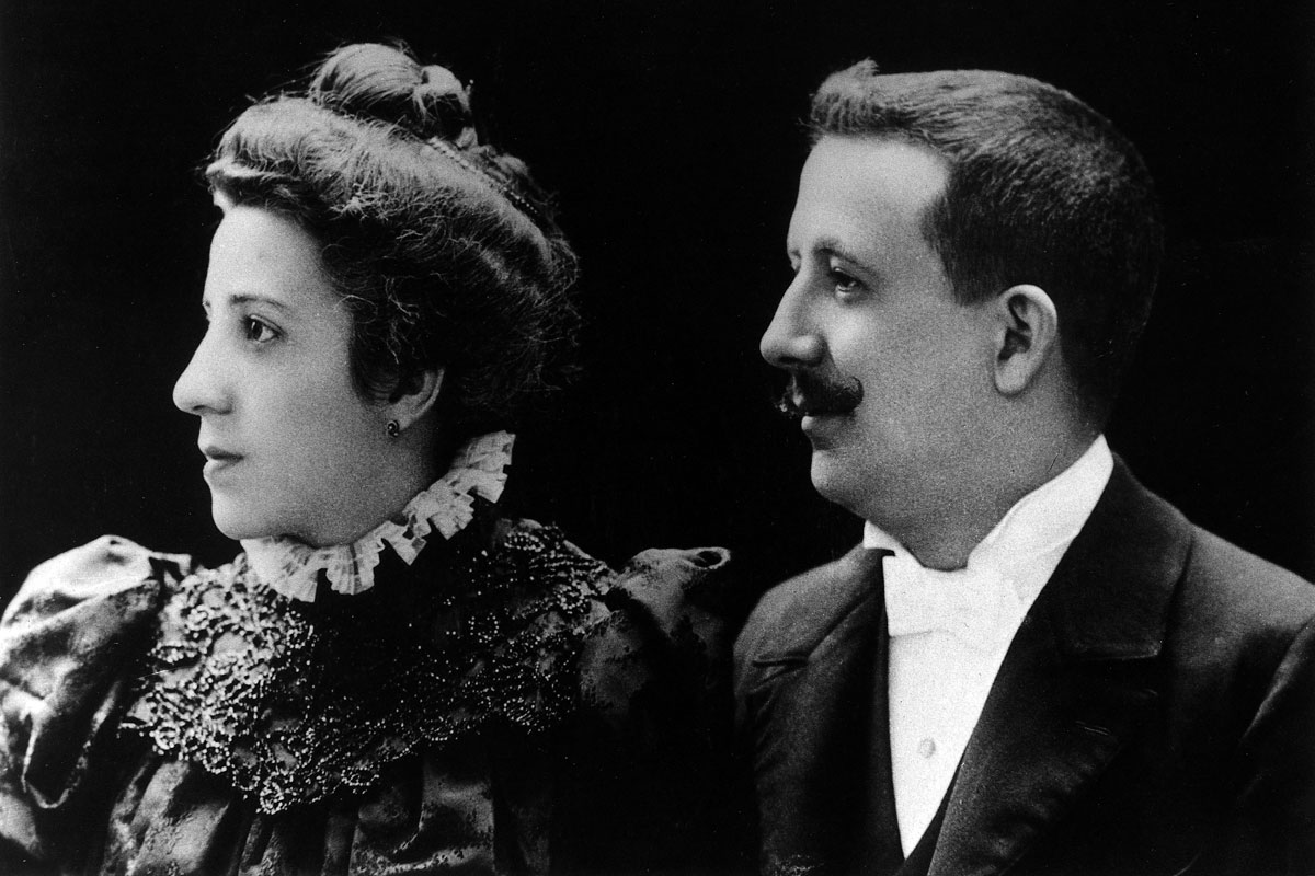 José Escrivá y Dolores Albás, padres de san Josemaría
